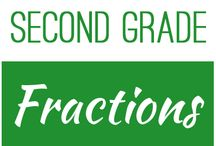Second Grade: Fractions / This board contains resources for Texas TEKS: 2.3A, 2.3B, 2.3C,2.3D