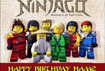 Ninjago-themed party
