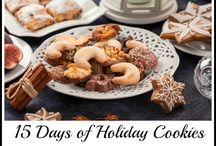 Holiday Cookies on Ann's Entitled Life / Holiday Cookies for your friends, family, cookie exchange or a little something to leave for Santa! Christmas Cookies, Christmas Bars, Christmas Sweets, Christmas Dessert Recipes, Holiday Bars, Holiday Sweets, Holiday Desserts