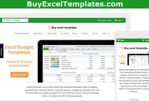 Excel Templates / Microsoft Excel templates, Excel dashboards and Excel spreadsheets
