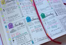Bullet Journal Dailies