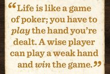 Poker- Casino Games / Play the hand you're dealt.