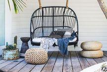 Cozy outdoors