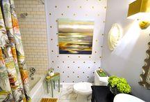 Girls'/guest bathroom / by Jessie Knadler