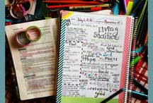 Creative Bible Journaling / Ideas about creative Bible journaling using various media.