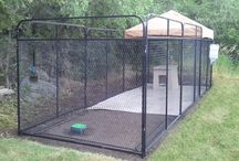 Ultimate Dog Kennel / Everything you need in one package to Kennel your dog properly, safely and secure.