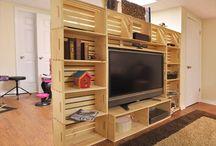 TV lounge / divider