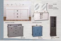 Fürdőszoba / Tömör fenyő és tölgyfa bútor. További információk az alábbi weboldalakon: http://ildare.unas.hu/ https://sites.google.com/site/fenyobutoregyedi/