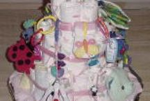Diaper Cakes / by Rosemary Griffin