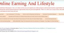 The Knowledge Of Internet To Earn Money Via The Online World - Income Sources Pervara Kapadia / I Work As Freelance Social Media Network Professional, Blog Article Writing, OnLine Research And Also Help People With The Knowledge Of Internet To Earn Money Via The Online World