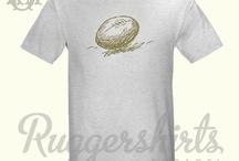 Rugby Ball T-Shirt / by Chris Rugger