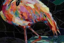 flamingos dance / by sherry swanson