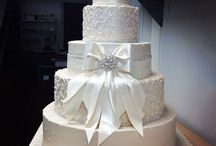 """Palermos White Wedding Cakes / This board is filed with many of our custom white wedding cakes. These cakes are all or mostly white, perfect for your  """"White Wedding"""". Use this for ideas on how you wish to create and design your perfect white wedding cake. If you are planning a wedding, use our board filled with many of our custom white cakes created for white weddings. Use this for ideas to help you plan your wedding, as well as gain wedding cake ideas"""