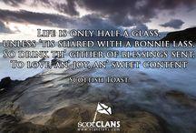 Scottish Toasts / Traditional toasts of Scotland