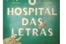livro Bospital das Letras