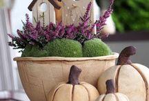 podzimní dekorace herbst