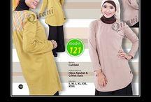 Baju Muslim Atasan Wanita / Sedia baju muslim atasan Qirani wanita, Hubungi :  Whatsapp : +62 812-3831-280  SMS : +62 812-3831-280  BBM : 5F03DE1D