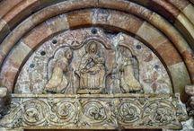 Chiemgau Kunst - Romanik / Kultur im Chiemgau aus der Romanik