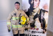 Ho Wing-Sam / SENIOR STATION OFFICER: HO WING-SAM  As the Light Goes Out (Chinese: 救火英雄) is a 2014 Hong Kong-Chinese disaster film directed by Derek Kwok, and ENTERBAY is proud to present the museum-like high end collectible figurines from this movie. From http://www.enterbay.com / by Farrah Fawcett