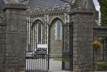 Kildare Town / The historic Kildare Town, County Kildare Ireland. A 5 minute drive from The Keadeen Hotel
