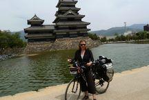 viajeras en bicicleta