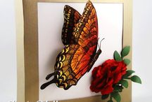 Su swallowtail / Swallowtail butterfly stamp