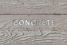CONCRETE / by AGUILERA|GUERRERO architects