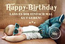 Geburtstagsgratulation