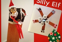 That silly lil elf! / by Emily Harmon