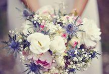 Wedding / idées fleurs