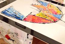Artworks and Works in progress by Axel A. / Artworks in progress !