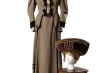 Barrandov Fundus Art Noveau costume samples