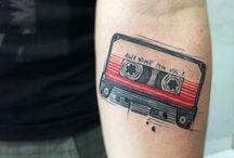 Tape tattoos