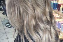 Bayalage cool blond hair