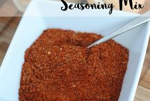 seasonings and dry soup mixes and  sauces