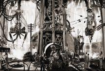 Steampunk Art / Artistes Steampunk