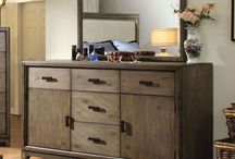 Bountiful Bedroom Storage / Essential case pieces for the bedroom which include chest of drawers, dressers & media chests.
