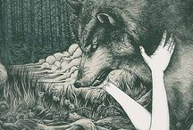 Wolves And Wolf-birds