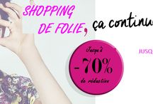Bonnes affaires shopping mode