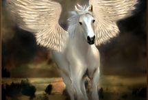 FANTAISY / personnage, paysage, créature... Dragon, licorne, ange, fée♥....