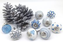 Christmas Cupboard Door Knobs / These Please original door knob designs with a Christmas theme at www.theseplease.co.uk
