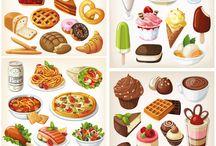 Tecknat-glass/muffins