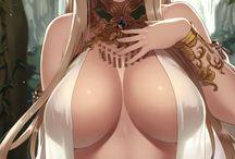Anime big breasts:Аниме большая грудь!