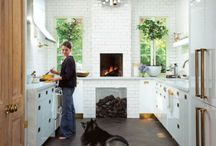Kitchens / by Debbie Simril Interiors