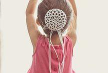 Crochet bun holder patterns