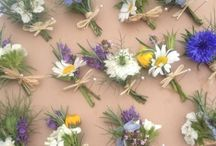 Wild flower wedding
