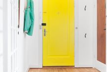 yelow door