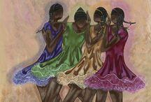 """""""BALLERINAS"""" / by Kathleen Fullwood"""