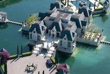 Casas luxuosas e decoração