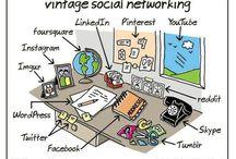 Social Media Humor / Cartoons, jokes, quotes about #SocialMedia. #SocialMediaFun